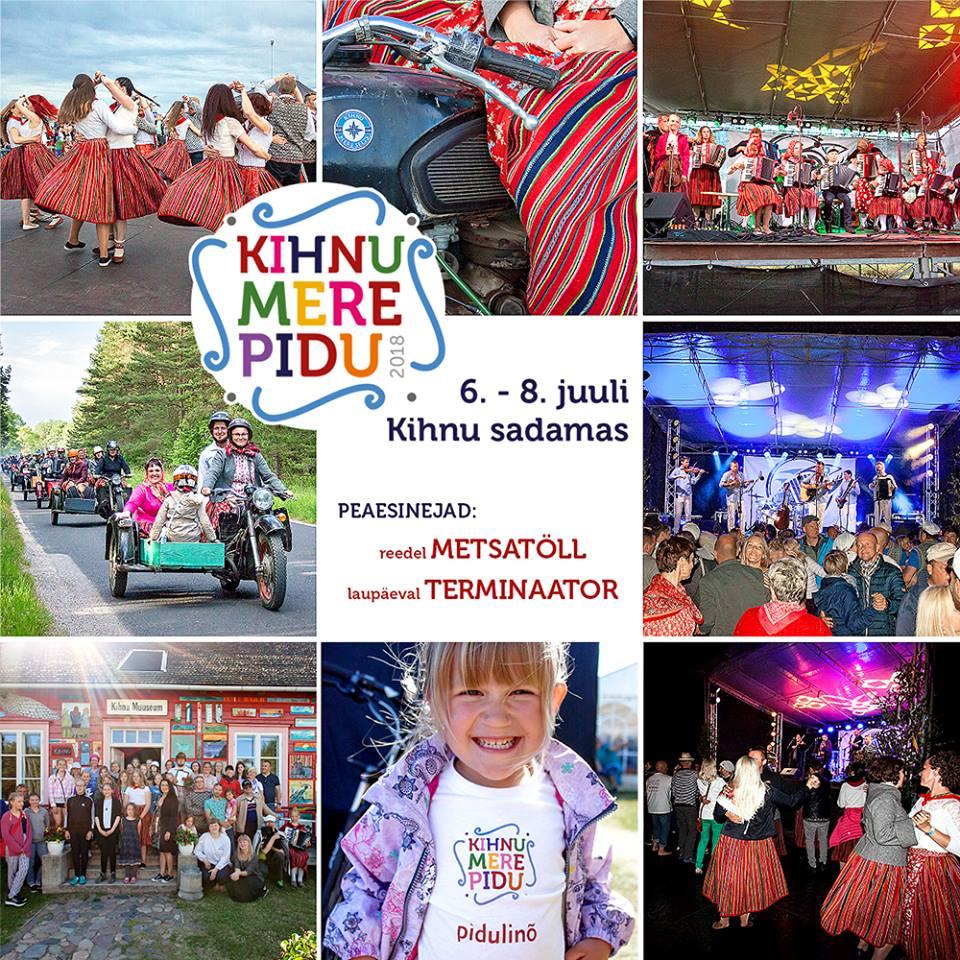 Kihnu Sea and Folklore Festival - KIHNU KULTUURIRUUM